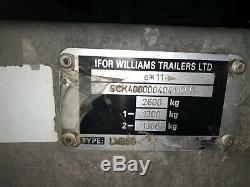 Ifor Williams Lm85g Double Essieu Dropside Trailer 2600 KG