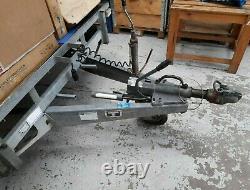 Ifor Williams Remorque À Plat 16ft Lm166g Twin Axe 3500kg (utilisé)