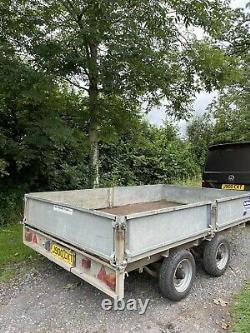 Ifor Williams Remorque Lm106 Twin Axe 10x6ft