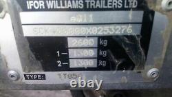 Ifor Williams Tt85g Twin Essieu Tipper Trailer 8ft X 5ft