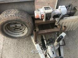Ifor Williamson 14ft Remorque Transporteur De Voitures, Remorque Twin Axle