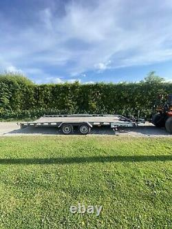 Indespension 16ft Remorque De Voiture 2700kg Twin Axle Transporter
