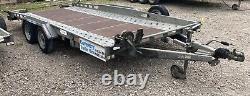 Indespension 16ft Remorque De Voiture Ct27167 Ex-hire 2700kg Twin Axle Transporter
