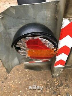 Indespension 8x4 Double Essieu Remorque Usine Pour Mini Digger Dumper Pelle