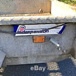 Indespension Ad2000 Remorque À Plantes Ad 2000 Mini Remorque À Remorquage, Axe Double 8 'x 4