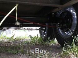 Indespension Box Remorque Tow A Van Twin Axle