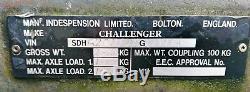 Indespension Challenger G20106v Remorque Végétale No Vat, 10 Pieds X 6 Pieds, Rochdale