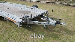 Indespension Ct27167 16ft Double Essieu Car Transporter Remorque