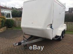 Indespension Remorquage A Van 480d Box Remorque Double Essieu 10 X 6pi Poids Brut 2000 KG