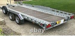 Indespension Remorque Porte-voiture Double Essieu Ct27167