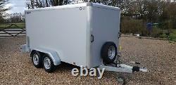 Indespension Tav 5 Braked Ramp Box Van Trailer 10ftx 5ft Moto Twin Axle