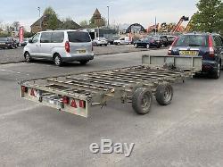 Lfor Williams 14ft Car Transporter Remorque 3500 KG Double Essieu