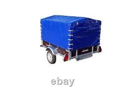 Lider 8x4 Twin Axle 750 KG Remorque Non Freinée Seulement £1395 Inc Cuve