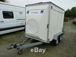 Lynton Charge Lugger 250 Essieux Twin Box Remorque 8ft X 5 Pi Comme Ifor Williams Tva