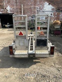 Mini Digger Twin Axle Plant Trailer