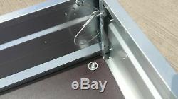 New Cage Remorque 9x4 Double Axle Al-ko Twin Axle Trailer Mesh Sides