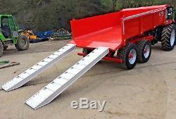 Nouveau 2019 12 Ton Mccauley Remorque Basculante, Tracteur, Pelle, Low Loader, Jcb