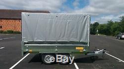 Nouveau Box Remorque Voiture Twin Axle 1300 KG