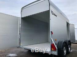 Nouveau Debon Roadster C500 Double Axle Box Van Remorque 2000kg Mgw, Côté Porte D'accès