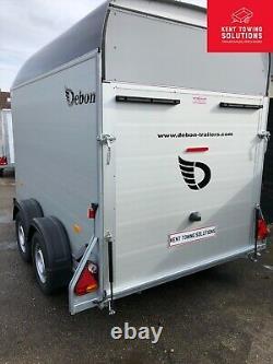 Nouveau Debon Roadster C500 Double Axle Box Van Remorque 2600kg Mgw, Côté Porte D'accès