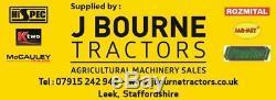 Nouveau Mccauley Mini Low Loader Remorer, Tracteur, Excavatrice, Tombereau, Jcb, Benne Basculante
