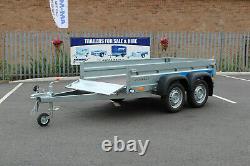 Nouvelle Remorque Auto À Deux Essieux 8'8 X 4'2 Faro Solidus 263cm X 125cm Maille