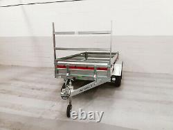 Nouvelle Remorque D'essieux Jumelés 8'7 X 4'1 750 KG Avec Rack D'échelle