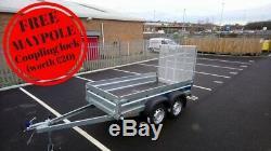 Nouvelle Voiture Double Essieu 8'8x4'2 750kg Solidus Ramp