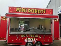 Refit Professional De Remorque Double Donut À 12 Essieux D'occasion De Catering Units Ltd