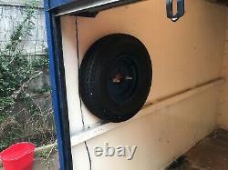 Remorque 7x4 Twin Axle Box