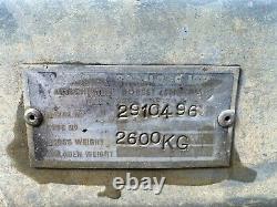 Remorque À Essieu Jumeau 8x4, Wessex, Pneus Neufs