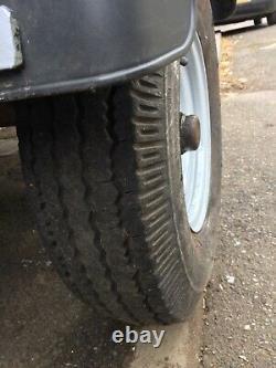 Remorque Axle Twin Avec Rampe De Chargement Drop Down