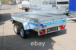 Remorque Cage De Voiture 7x4 Twin Essieu 750kg Flatbed Unbraked Trailer