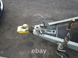 Remorque D'essieu Jumeau Brenderup 8ft X 5ft. 1200kg