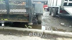 Remorque D'essieux Jumelé 8x4