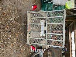 Remorque D'usine D'indespension 8x4 2.7t Mini Digger Twin Essieu Pas Ifor Williams