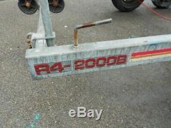 Remorque De Bateau À 2 Essieux Sbs R4 2000