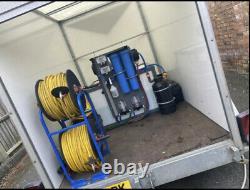 Remorque De Boîte De Blueline Twin Axle Box Remorque Blue Line Roller Shutter