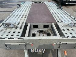 Remorque De Transport De Voiture À Deux Essieux Prg 3500kg