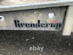 Remorque De Transport De Voiture Brenderup Twin Axle, Treuil, Pneumatiques Et Freins Récents