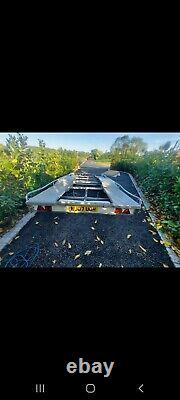 Remorque De Transport De Voiture, Jumeaux Axle