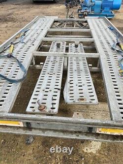 Remorque De Transport De Voiture Twin Axle De 15 Pi De Long X 6 Pi 10 Avec Rampes