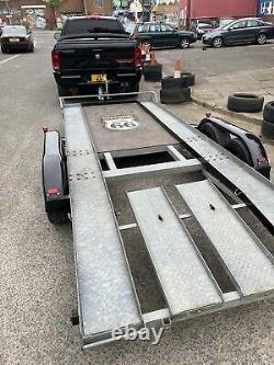 Remorque De Transport De Voiture (twin Axle) Utilisée