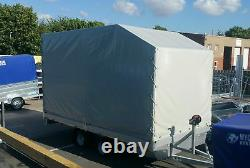 Remorque De Transporteur De Voiture 3000kg 16ft X 7ft Twin Axle Al-ko Braedd Flatbed