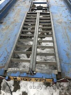 Remorque De Transporteur De Voiture De Twin-essieu