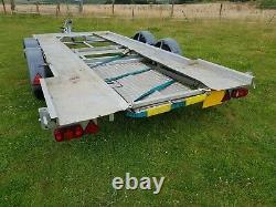 Remorque De Voiture 19ft Transporteur De Voiture Twin Axle