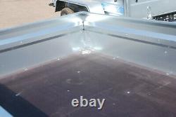 Remorque De Voiture 7x4 Twin Axe 750kg Remorque Plate Non Freinée