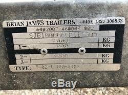 Remorque De Voiture À Deux Essieux Brian James Clubman Avec Rampes
