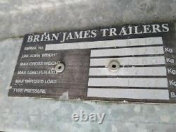 Remorque De Voiture De Transport De Voiture De Brian James Minno Avec Support De Roue De Secours
