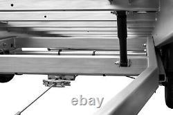 Remorque De Voiture Flatbed Tilting Trailer 16ft X 7ft Twin Axle 5m X 2,1m 3000kg